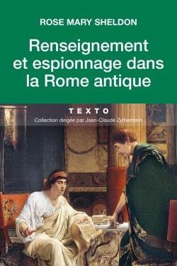 9791021036833_Renseignement et espionnage dans la Rome antique_Sheldon